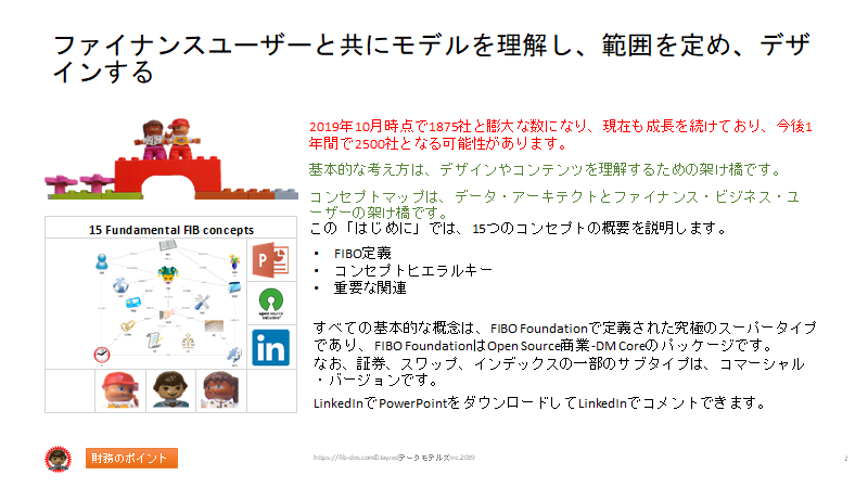 Semantics for Japanese Finance Users slide 02- The model