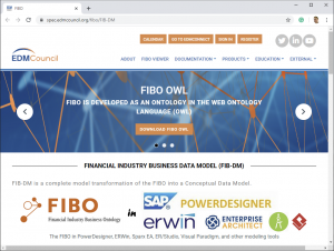 FIB-DM on the EDMC FIBO Portal (screenshot)